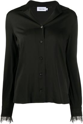 Calvin Klein Long Sleeve Blouse