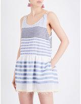 Lemlem Assaman cotton-blend beach dress