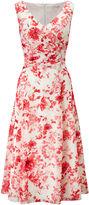 Jacques Vert Sunset Dahlia Print Midi Dress