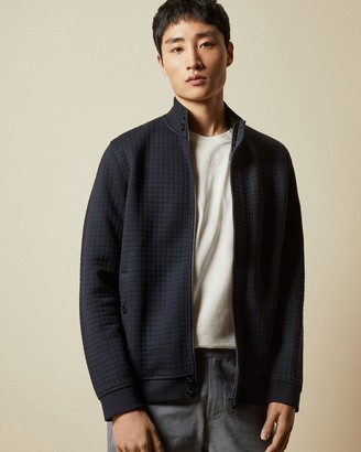 Ted Baker ENCORE LS All Over Textured Funnel Neck