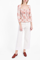 Brock Collection Taylor Rose Print Top