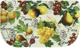 "Bacova Botanical Fruit 18"" x 30"" Memory Foam Rug"