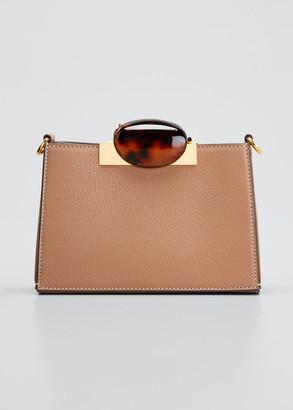 Marni Galet Leather Crossbody Bag