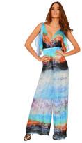 Del Mar Swimwear - Ella Jumpsuit in Blue