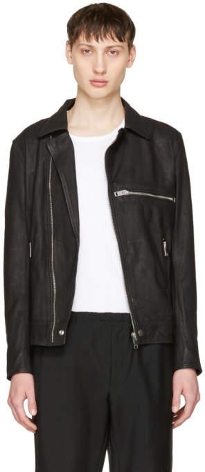 Diesel Black Leather L-Hater Jacket