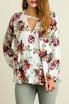 Umgee USA Nothing But Flowers Blouse