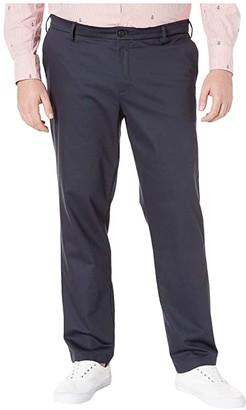 Dockers Big Tall Modern Tapered Signature Khaki Creaseless Pants (Navy) Men's Casual Pants