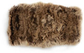 Surell Rabbit Fur Convertible Headband