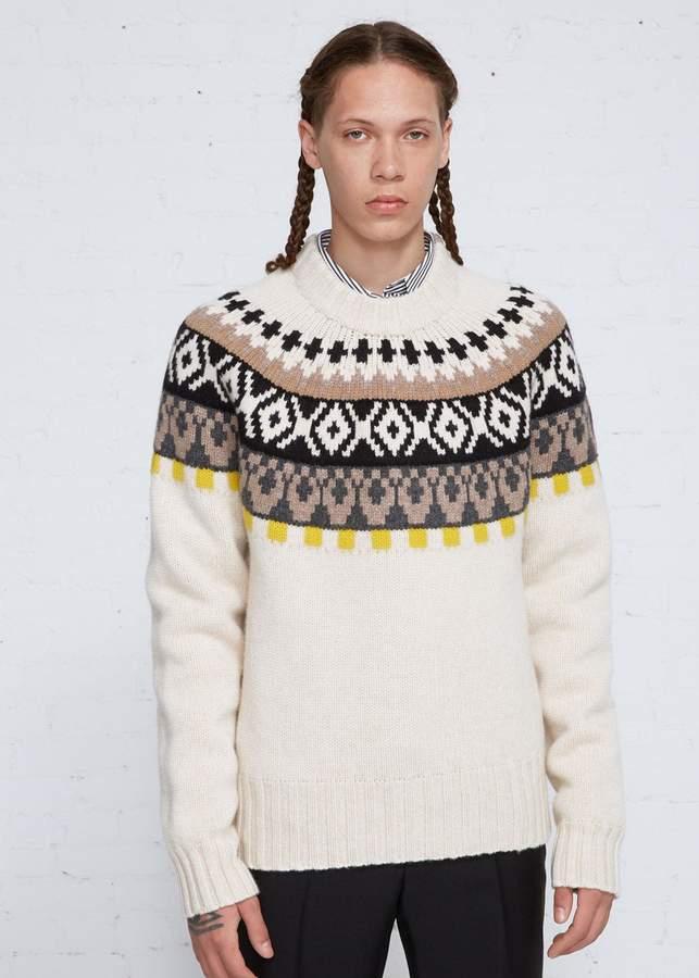 Maison Margiela Fairisle Sweater