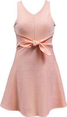Ava & Yelly Knotted Skater Dress