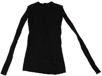 Rick Owens Black Cotton T-shirts