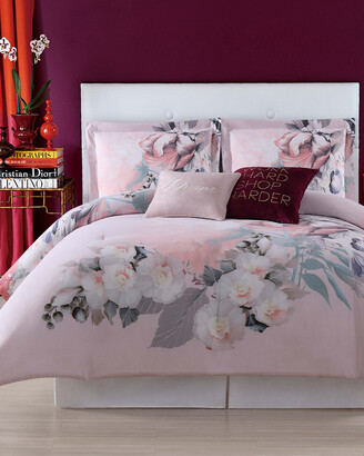 Christian Siriano Dreamy Floral Duvet Set