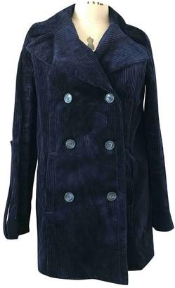 Mira Mikati Navy Coat for Women