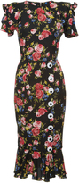 Dolce & Gabbana Floral Print Sheath Dress