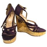 Saint Laurent Cloth heels