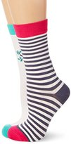 Joules Women's Brill Bamboo Set Casual Socks, 100 Den,(Manufacturer Size:4-8) pack of 3