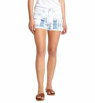 Silver Jeans Co. Women's Not Your Boyfriend's Mid Rise Shorts