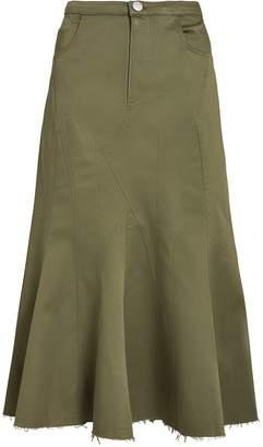 Gaudi' Miaou Gaudi Paneled Workwear Midi Skirt