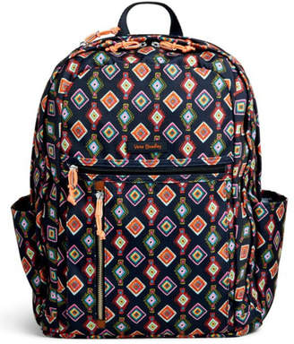 Vera Bradley Mini-Medallions Laptop Backpack