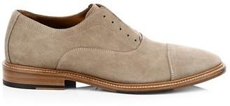 Aquatalia Matia Suede Optional Laces Derby Shoes