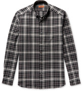 Missoni - Button-down Collar Checked Textured-cotton Shirt