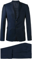 Emporio Armani two piece suit - men - Cupro/Wool/Virgin Wool - 54