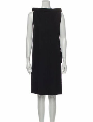 Maison Margiela Virgin Wool Knee-Length Dress w/ Tags Wool