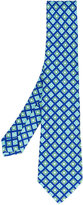 Kiton diamond print tie - men - Silk - One Size