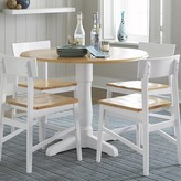 Beachcrest Home Finley Round Drop Leaf Dining Table