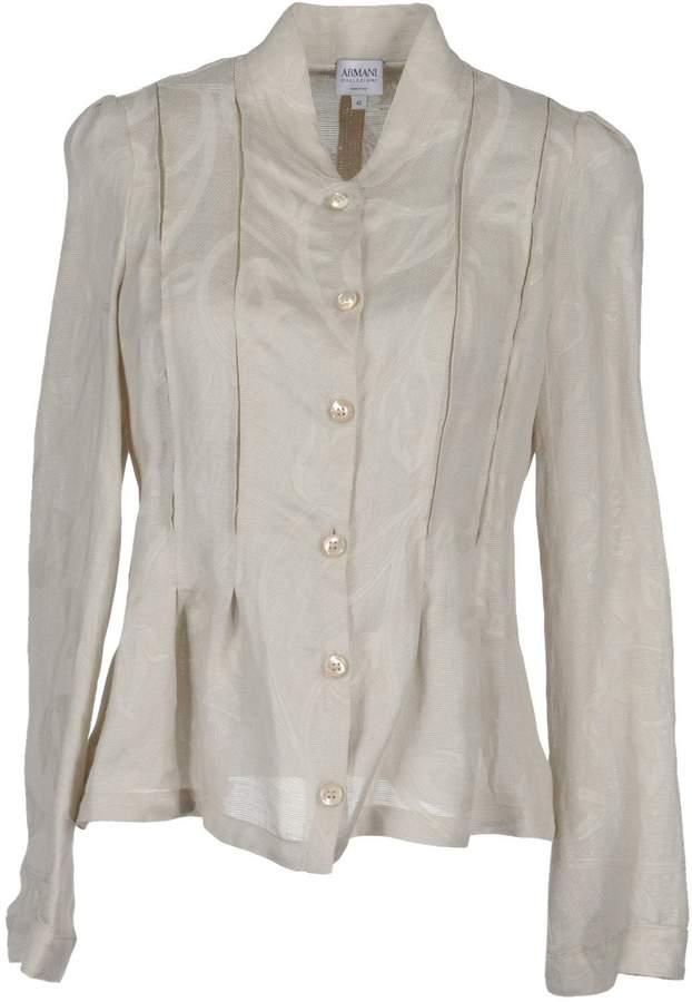 Armani Collezioni Long sleeve shirts