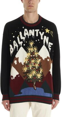 Ballantyne Logo Christmas Sweater