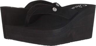 Cobian Lanai (Black) Women's Shoes