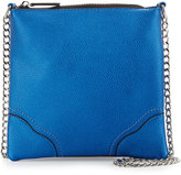 Cynthia Vincent Heaven Chain-Strap Crossbody Bag, Blue Matte