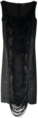 Jitrois Black Leather Dresses