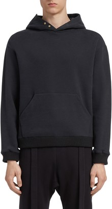 Fear Of God X Ermenegildo Zegna Slim Fit Cotton & Cashmere Hoodie