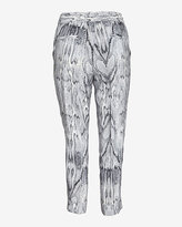 Exclusive for Intermix Silky Snake Print Pant