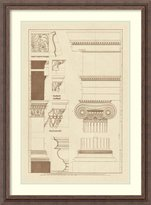 Amanti Art Framed Art Print 'Details from the North Portico of the Erechtheum' by J. Buhlmann