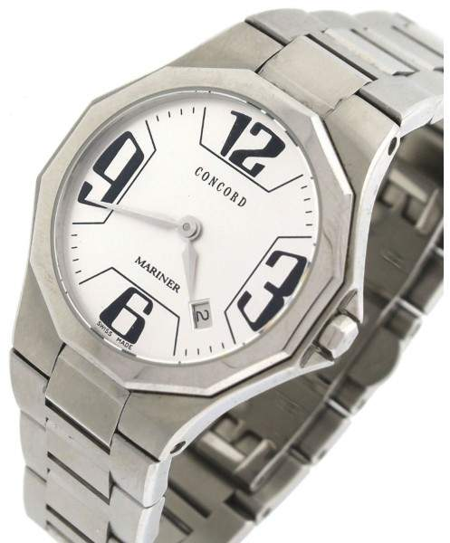 Concord Mariner 14.E6.1850 Stainless Steel Silver Date 30mm Quartz Ladies Watch