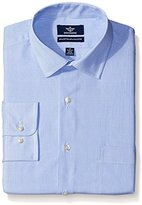 Dockers Blue Stripe Classic Shirt - Spread Collar