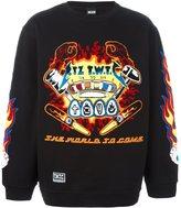 Kokon To Zai embroidered sweatshirt - men - Cotton - S