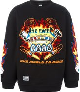 Kokon To Zai embroidered sweatshirt