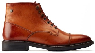 Base London Conrad Leather Boots - Tan