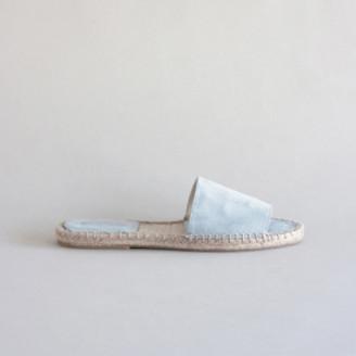 Mint & Rose - Soft Blue Olivia Slip On Sandals - 39