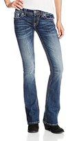Miss Me Juniors Zebra Studded Flap Pocket Boot Cut Jean