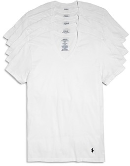 Polo Ralph Lauren Classic Fit V-Neck Tee - Pack of 5