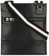Bally striped strap shoulder bag