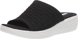 Ryka Women's Nanette Slide Sandal Black 12 M US