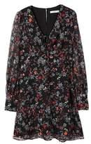 MANGO Floral chiffon dress