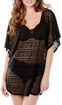 Captiva Sea Wave Crochet Cover-Up Tunic