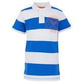 Wimbledon Blue Stripe Polo